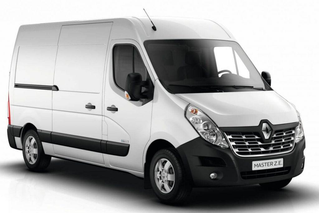 Elektrische bedrijfswagen Renault Master ZE