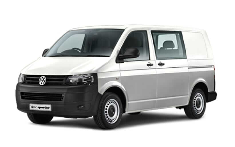 Volkswagen transporter dubbele cabine leasen